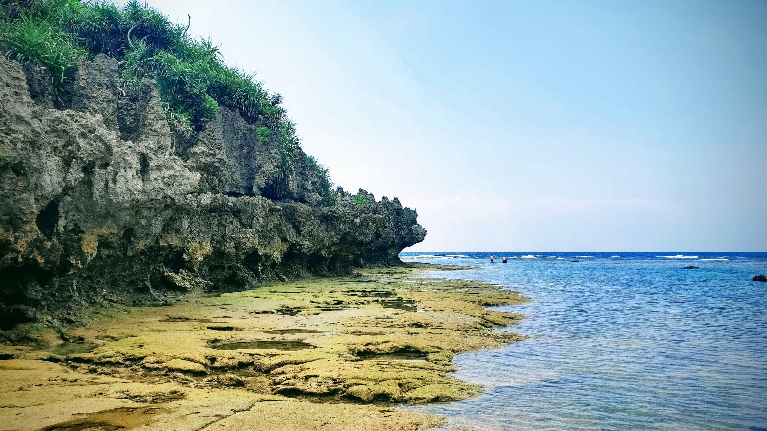 Okinawa coastline