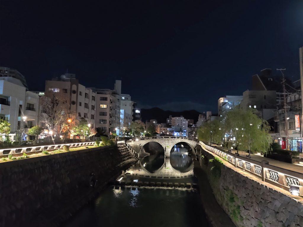 Megane-bashi (bridge)