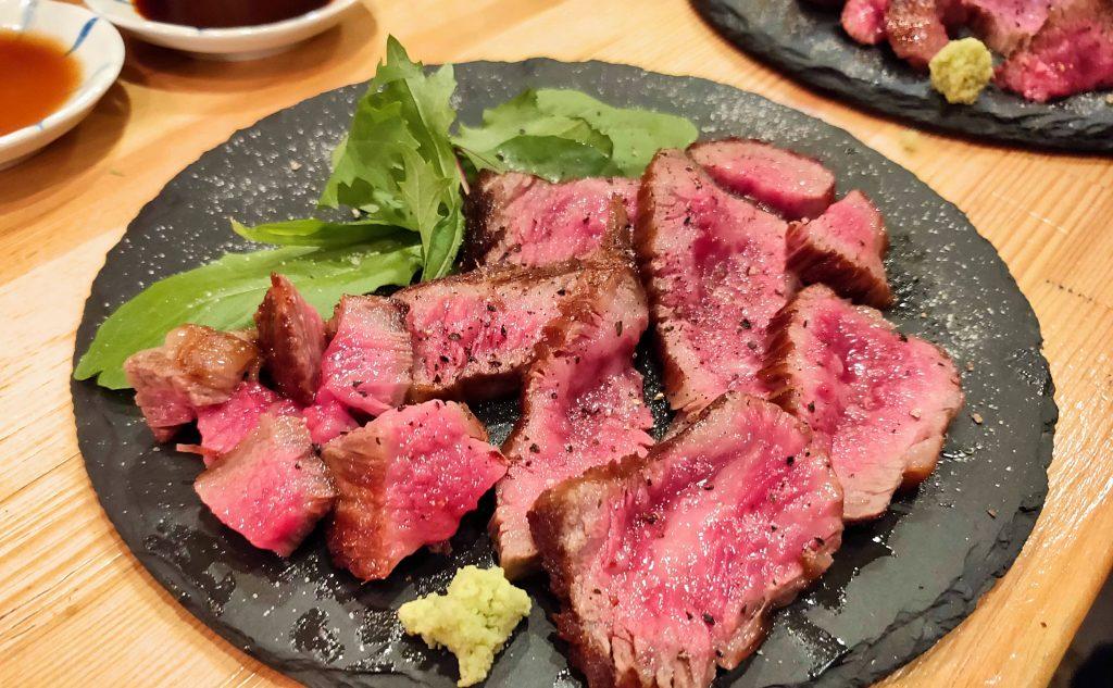 wagyu beef option