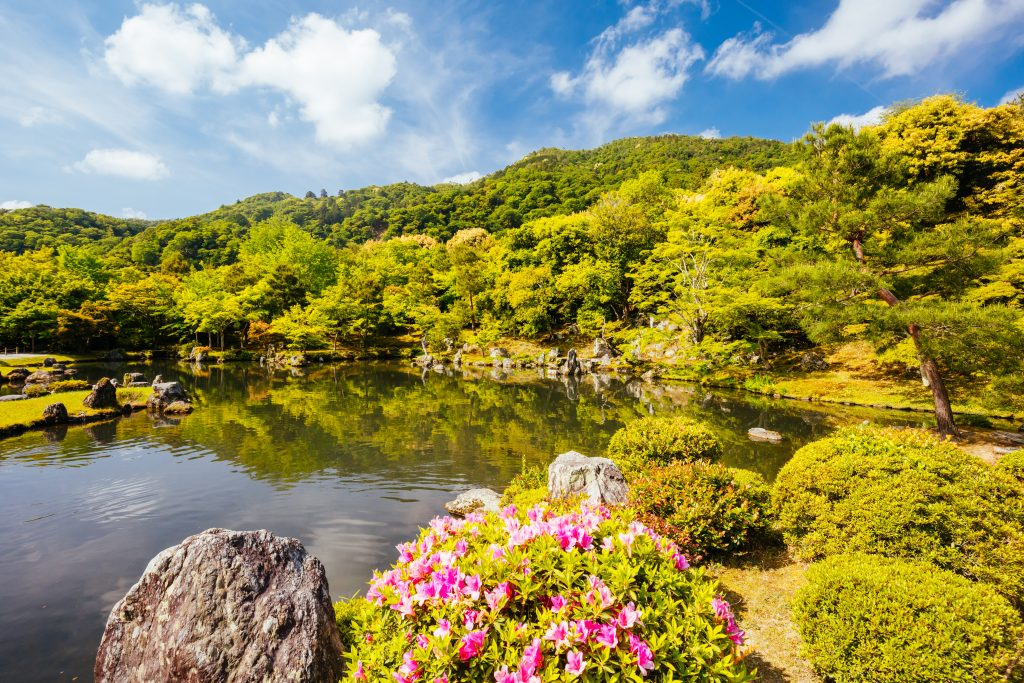 Tenryu-ji Garden and Temple